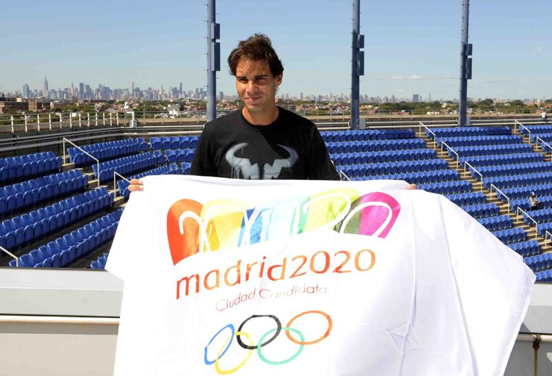 Nadal apoyo JJOOMadrid 2020