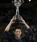 Foto Nishikori 2014 rakuten japan open.