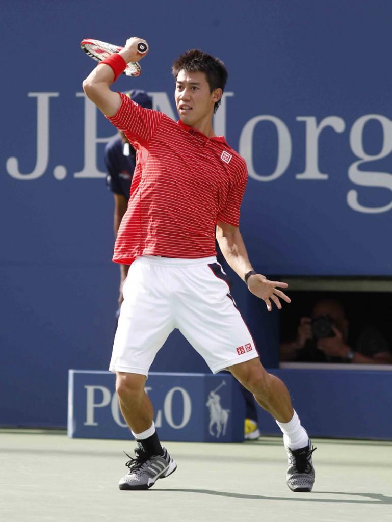 Nishikori K US Open 2014 10 b