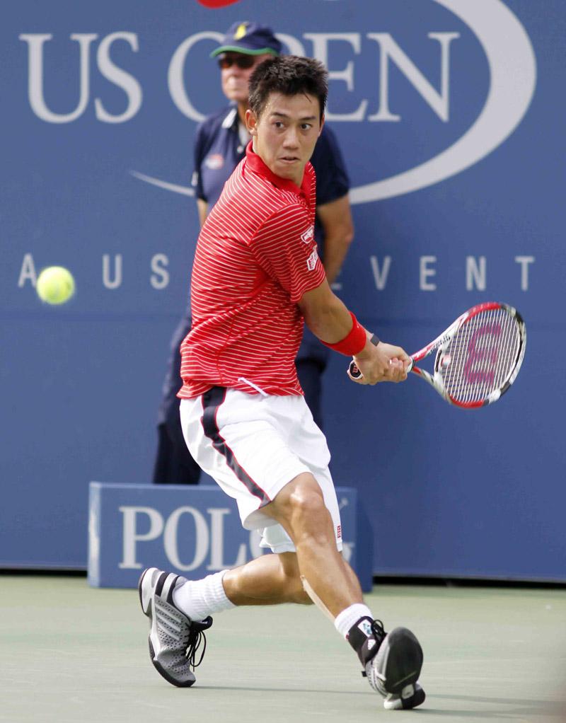 Nishikori K US Open 2014 13 b