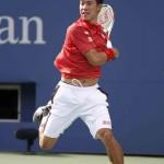 Foto Kei Nishikori US Open 2014