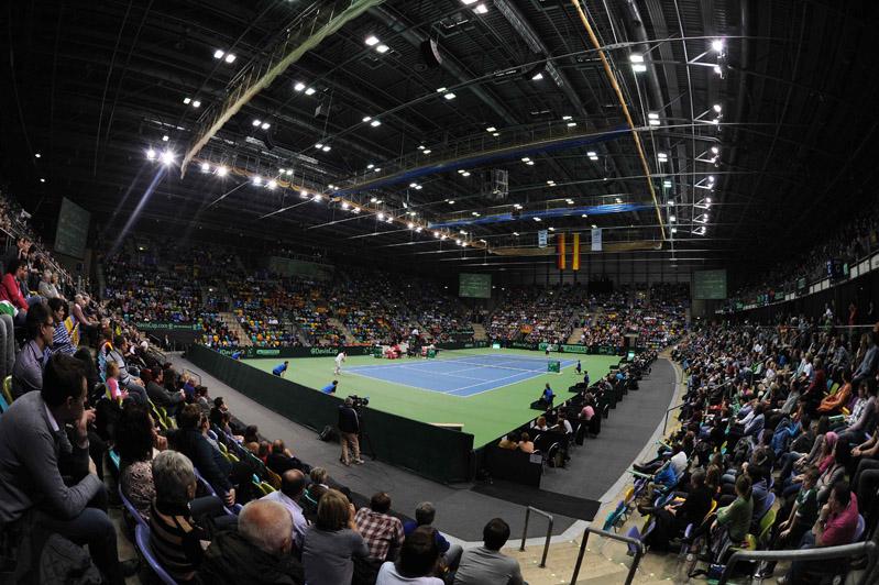 Panorámica interior FRAPORT Arena