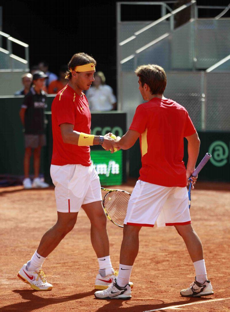 Pareja española Copa DavisMadrid