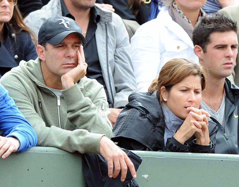 Paul Annacone en Roland Garros