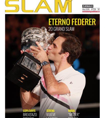 Portada Revista Tenis Grand Slam 254