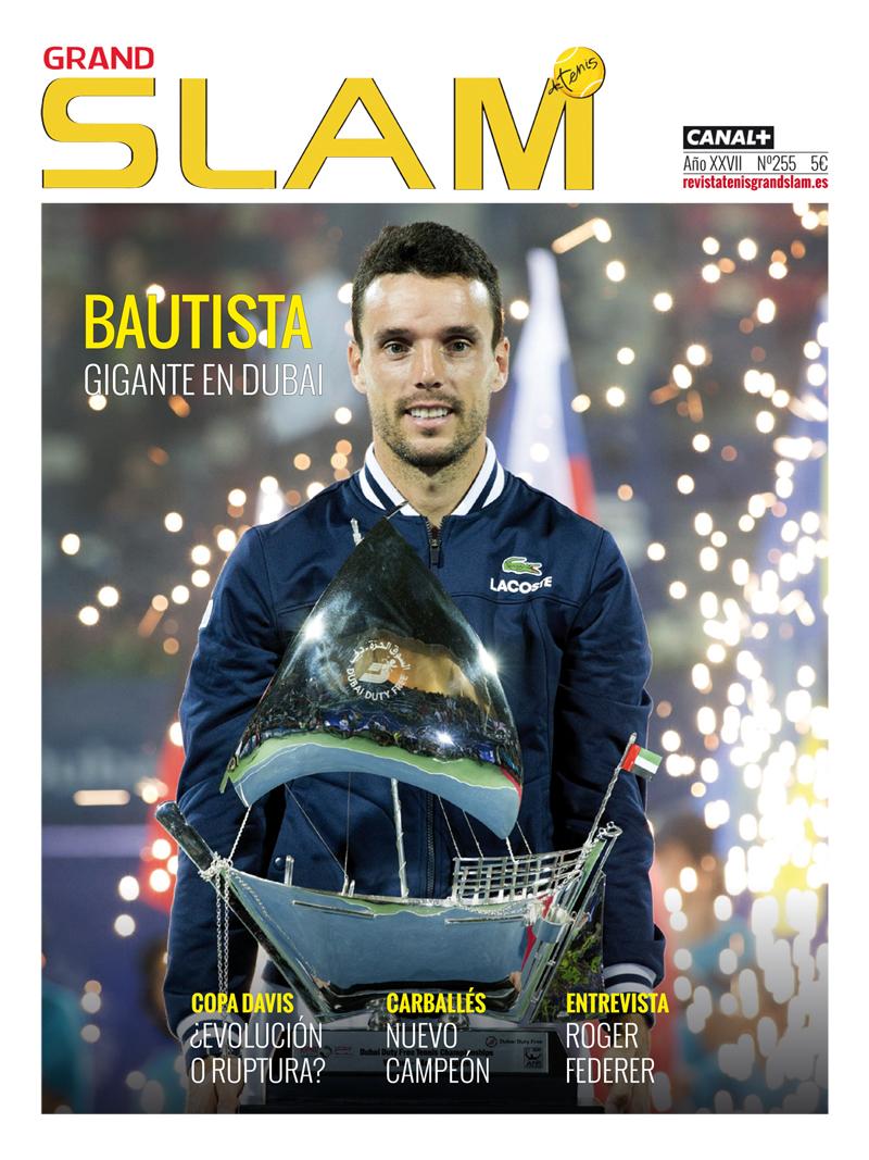 Revista 255 Grand Slam de Tenis
