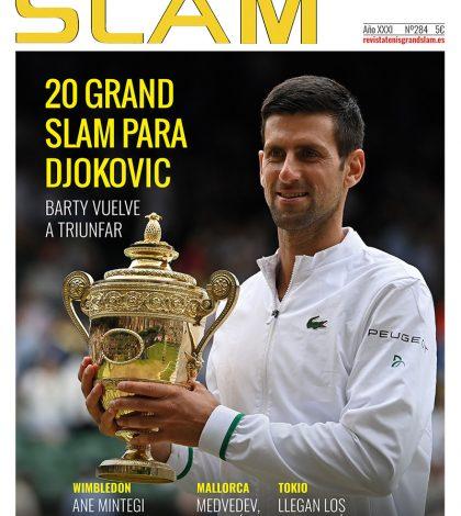 Portada revista de tenis grand slam número 284