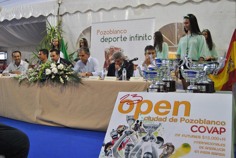 Foto Presentación Open Ciudad de Pozoblanco COVAP