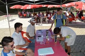 Rafa Nadal Tour by MAPFRE_ Chicos dejando un mensaje para sus compañeros