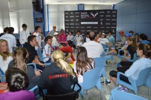 Rafa Nadal Tour by MAPFRE_ entrenamiento en valores