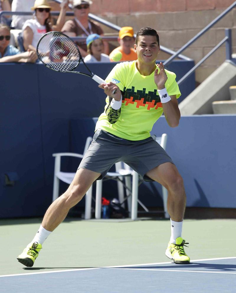 Raonic M US Open 2014 04 b