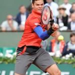 Roland Garros 2014 Raonic3