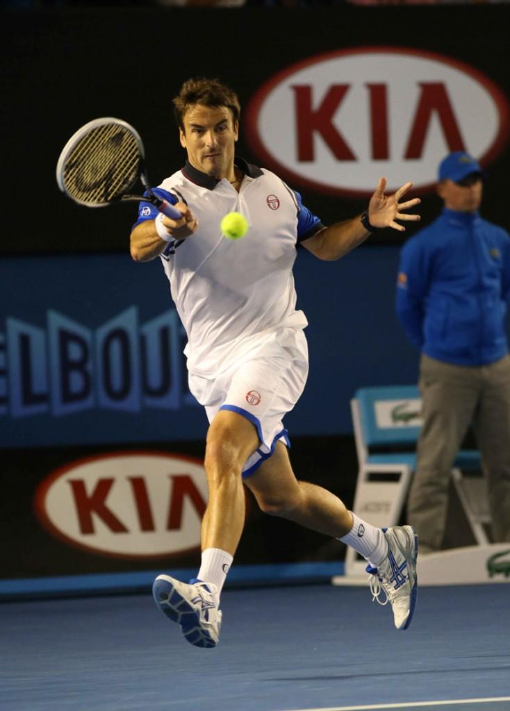 Robredo- Open-Australia- Domingo 19/01/12014