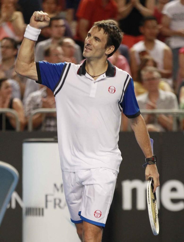 Robredo Open Australia Viernes 17/01/2014