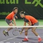 Roig y Nadal Doha 2014