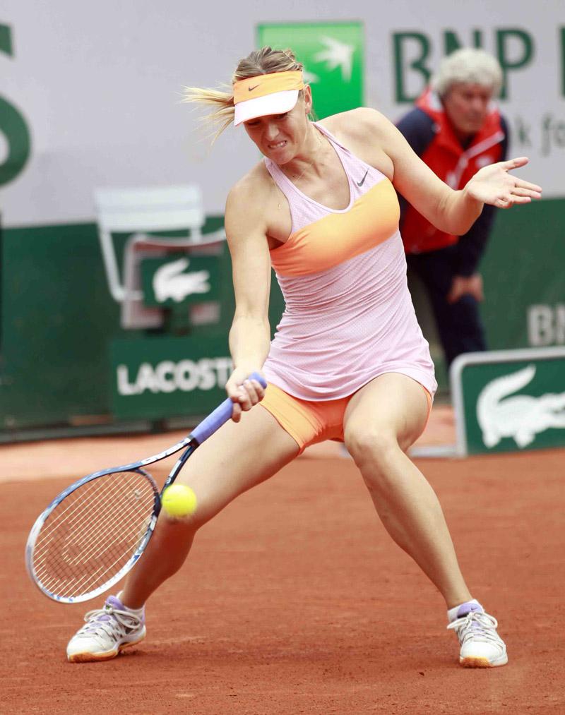 Roland Garros 2014  Sharapova5