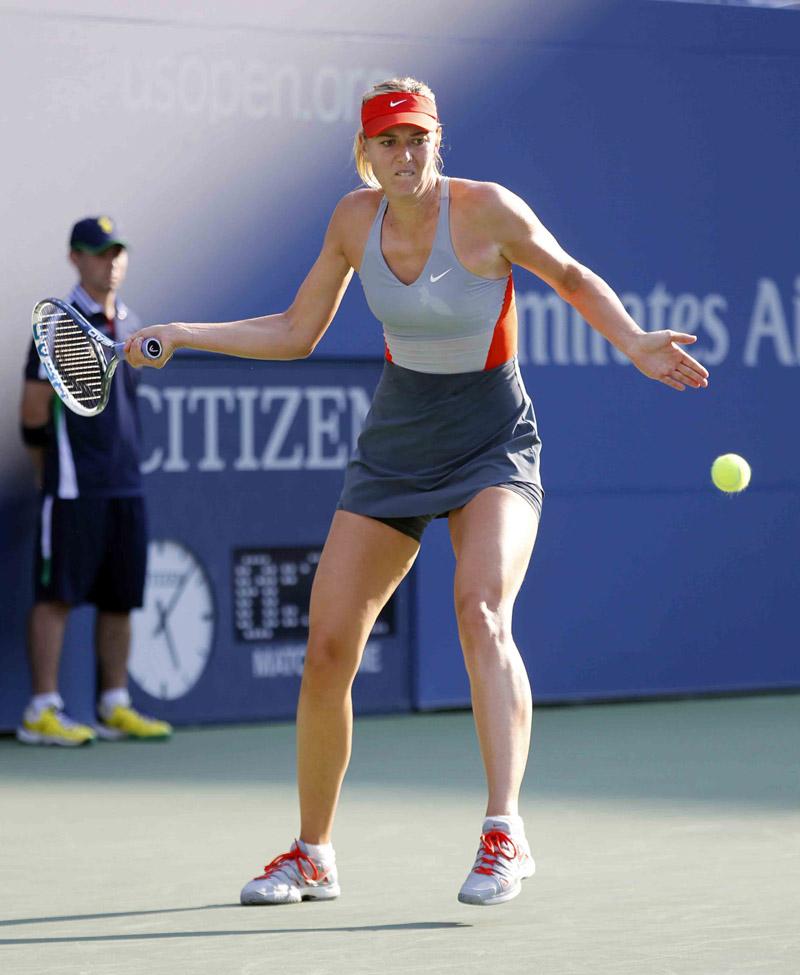 Sharapova M US Open 2014 02 b