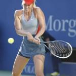 Foto de Sharapova en el US Open 2014