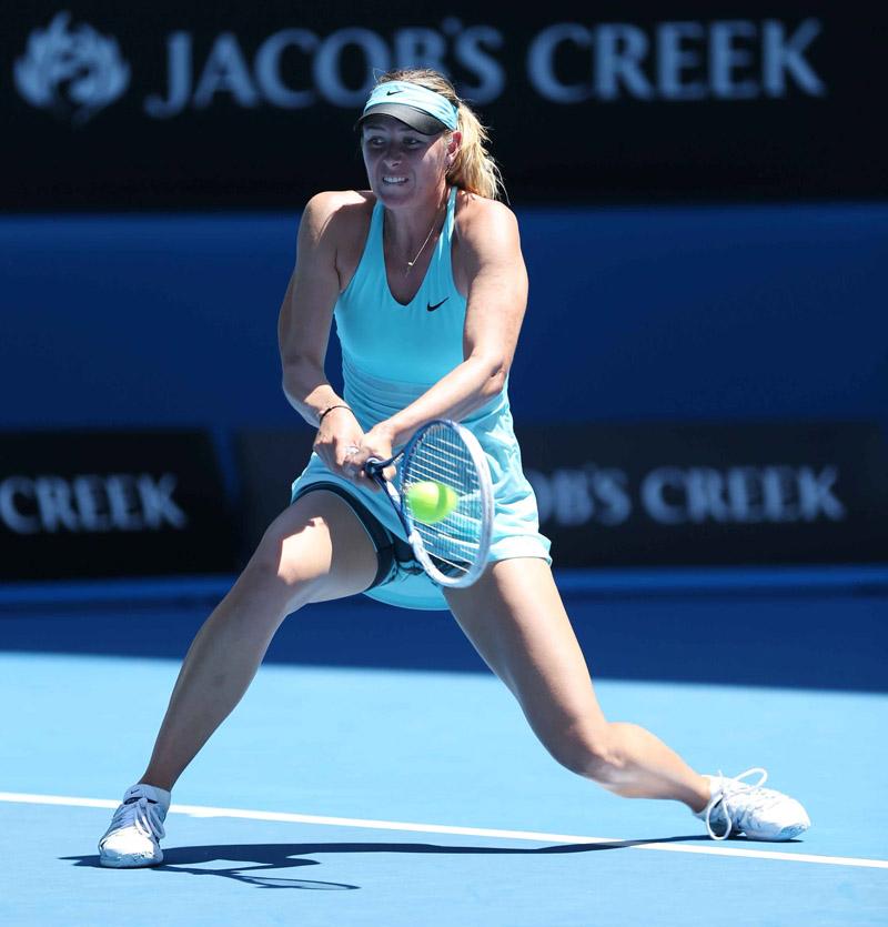 Sharapova Open Australia Jueves 16/01/2014