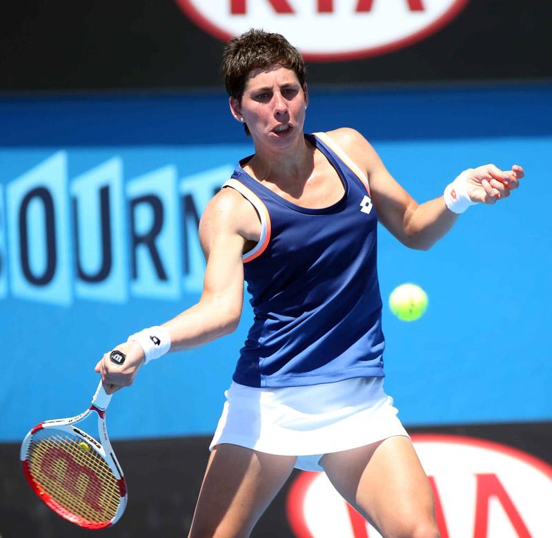 Carla Suarez Open Australia Jueves 16/01/2014