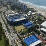 Foto Instalaciones donde se disputará el Abierto Mexicano de Tenis