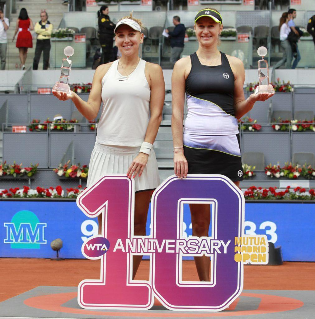 Vesnina-Makarova campeonas dobles MMO 2018 06