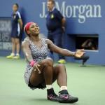 Serena Williams celebración US OPEN 2014