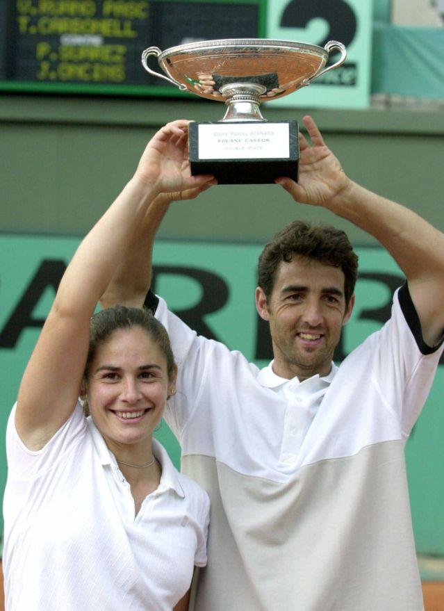 Los tenistas Virginia Ruano y Tomás Carbonell