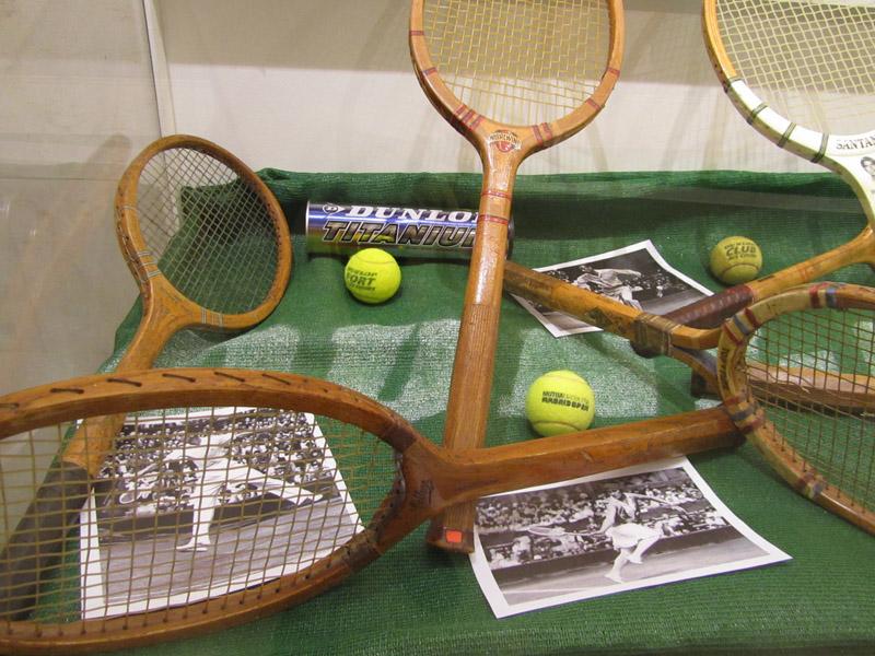 exposicion raquetas