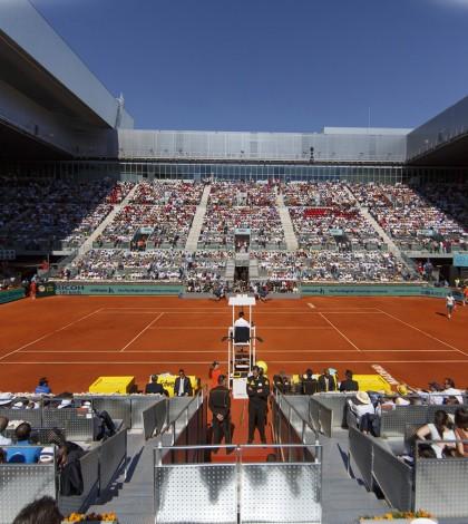 Revista Tenis Grand Slam. Foto de fondo