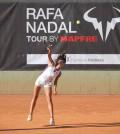 jugadora Rafa Nadal tour by mapfre