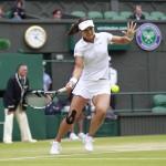 Foto Li Na en Wimbledon