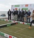 foto de la presentacion challenger puerto real en hierba