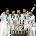Foto equipo Republica Checa campeona Davis
