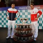 sorteo copa davis Francia-Suiza