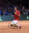 Federer gana ultimo punto Copa Davis