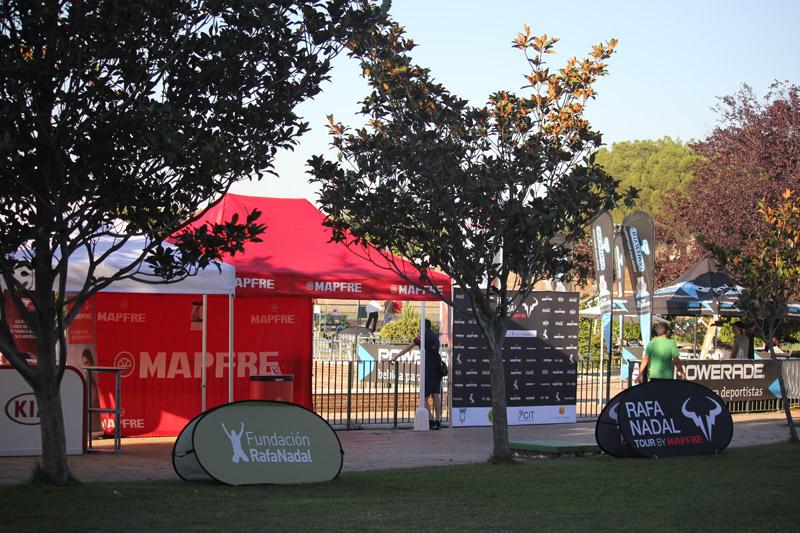 sponsors Rafa Nadal tour by mapfre