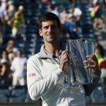 Foto Djokovic ganador de Indian Wells 2014