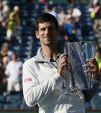 Foto Djokovic ganador de Indian Wells 2014