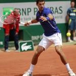 Foto Novak Djokovic RolandGarros2013