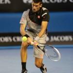 Foto Djokovic Open Australia Viernes 17/01/2014