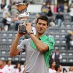 Foto Djokovic campeon en Roma 2