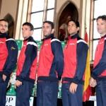 Foto Equipo español que se medir† a Alemania 02