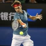 Foto Federer - Open-Australia- Miércoles 22-01-2014