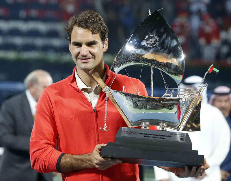 © 2013 Regi Varghese. Federer-campeon-Dubai-03-b.jpg