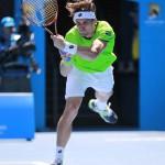 Foto David Ferrer Open Australia Viernes 17/01/2014-4