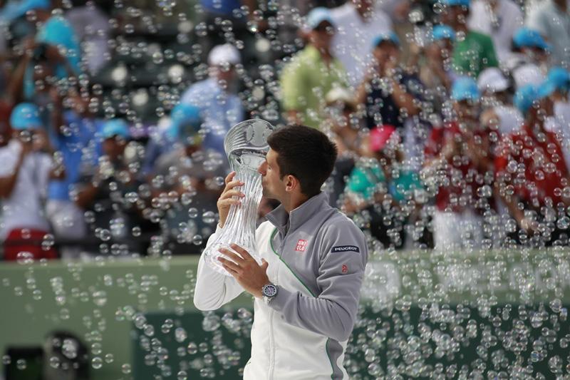 Novak Djokovic campeón Miami3