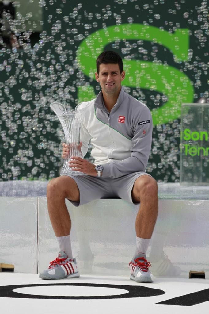 Novak Djokovic campeón Miami2