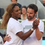 Foto Charity Day. Serena Williams y el actor Dani Rovira