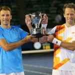 Foto Kubot-Lindstedt campeones de dobles masculinos Open Australia 2014